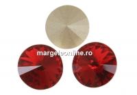 Swarovski, rivoli, scarlet, 10mm - x2