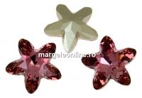 Swarovski, fancy mystic star, antique pink, 18mm - x1