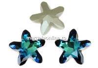 Swarovski, fancy mystic star, bermuda blue, 8mm - x1