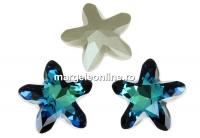 Swarovski, fancy mystic star, bermuda blue, 13mm - x1