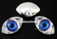 Swarovski, rivoli cabochon Eye, sapphire, 18mm - x1
