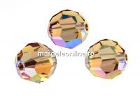 Swarovski, margele, fatetat, lt. colorado top. shim., 8mm - x2