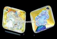 Swarovski, pandantiv growing rhombus, aurore boreale, 26mm - x1