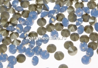 Swarovski, chaton PP18, air blue opal, 2.5mm - x20