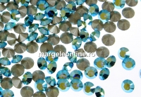 Swarovski, chaton pp14, blue zircon aurore boreale, 2mm - x20