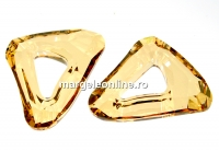Swarovski, pandantiv cosmic triangle, golden shadow, 20mm - x1