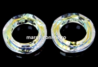 Swarovski, pandantiv cosmic ring, aurore boreale, 14mm - x1