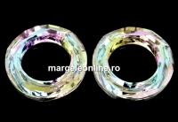 Swarovski, pandantiv cosmic ring, vitrail light, 14mm - x1