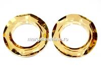 Swarovski, pandantiv cosmic ring, golden shadow, 14mm - x1