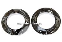 Swarovski, pandantiv cosmic ring, silver night, 20mm - x1