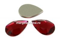 Swarovski, cabochon picatura, scarlet, 14x9mm - x1