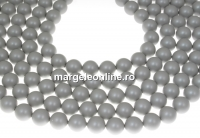 Perle Swarovski, pastel grey, 3mm - x100