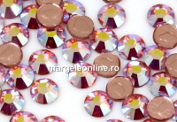 Swarovski, hotfix, ss10, light rose aurore boreale, 2.7mm - x20