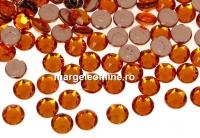 Swarovski, hotfix, ss12, tangerine, 3mm - x20