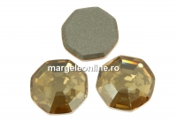 Swarovski, cabochon solaris, golden shadow, 8mm - x2