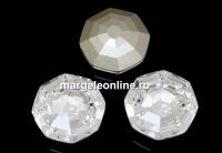 Swarovski, fancy solaris, crystal, 14mm - x1