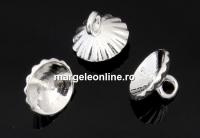 Agatatoare pandantiv pt perle cu o gaura de 10mm, argint 925 - x1