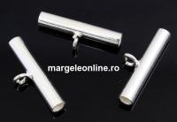 Spacer decorativ pentru charmuri, argint 925, 20mm - x1