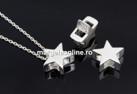 Pandantiv stea, argint 925, 10mm - x1