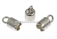 Terminatie bratari si coliere, ag 925 pl cu rodiu, interior 4mm - x2