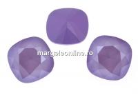 Swarovski, fancy square, lilac, 12mm - x1