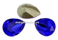 Swarovski, fancy picatura, majestic blue, 14x10mm - x1