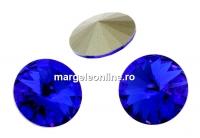 Swarovski, rivoli, majestic blue, 10mm - x2