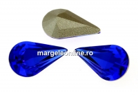 Swarovski, fancy rivoli Pear, majestic blue, 13mm - x2