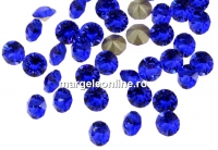 Swarovski, chaton PP9, majestic blue, 1.5mm - x20