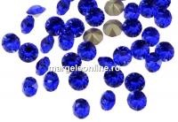 Swarovski, chaton pp24, majestic blue, 3mm - x20