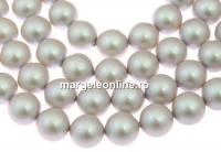 Perle Swarovski, iridescent dove grey, 4mm - x100
