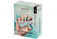 Swarovski Crystal Pixie Edge pentru unghii, TROPIC SEAFOAM - 1 cutie