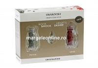 Swarovski Crystal Pixie Petite si Edge pentru unghii, Trialset gold - 1 set
