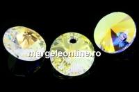 Swarovski, pandantiv rivoli, crystal AB, 6mm - x10