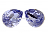 Swarovski, fancy picatura, provance lavander, 10x7mm - x1