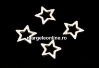 Link steluta argint 925, 5.5mm  - x2