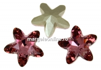 Swarovski, fancy mystic star, antique pink, 8mm - x1