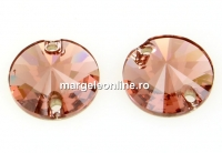 Swarovski, link, blush rose, 14mm - x1