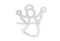 Link ingeras, argint 925, 15mm - x1