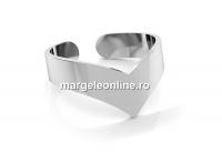Baza inel sageata, argint 925, reglabil   - x1