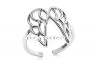 Baza inel aripi, argint 925, reglabil   - x1