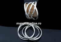 Baza 5 inele, argint 925, interior 16.5mm - x1