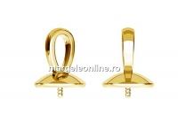 Baza pandantiv ag925 pl cu aur, perla 5818 de 10mm - x1