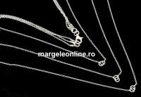 Lant triplu pentru linkuri argint 925, 35+42+45cm - x1