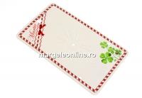 Carton martisor, trifo, 10x6cmi- x50