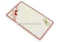 Carton martisor, ghiocei, 10x6cm- x50