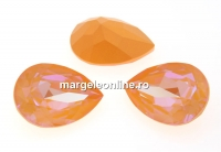 Swarovski, fancy picatura, peach deLite, 14x10mm - x1