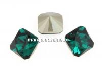 Swarovski, fancy Kaleidoscope, emerald, 10mm - x1