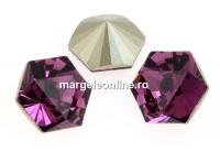 Swarovski, fancy Kaleidoscope hexagon, amethyst, 14mm - x1