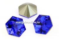 Swarovski, fancy Kaleidoscope hexagon, majestic blue, 6mm - x2